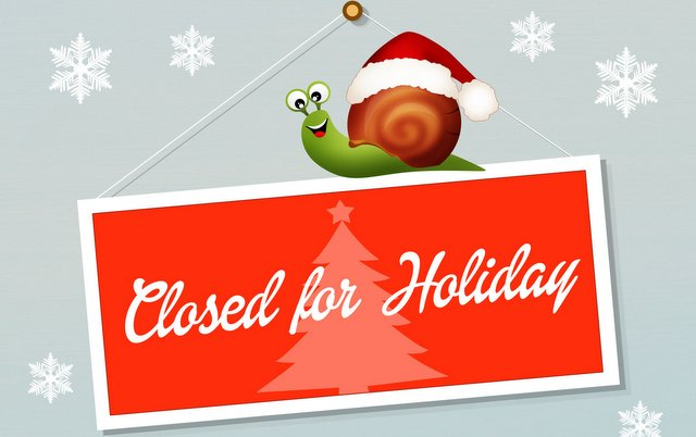 34168301 - closed for holidays
