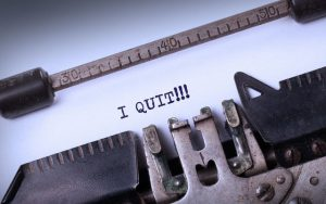 """""""I quit!"""" What to do when a key employee resigns"""