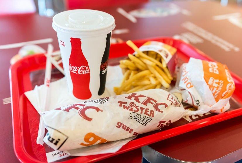 KFC after staff suffer burns