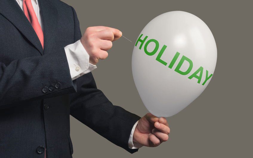 Can I refuse or cancel an employee's holiday