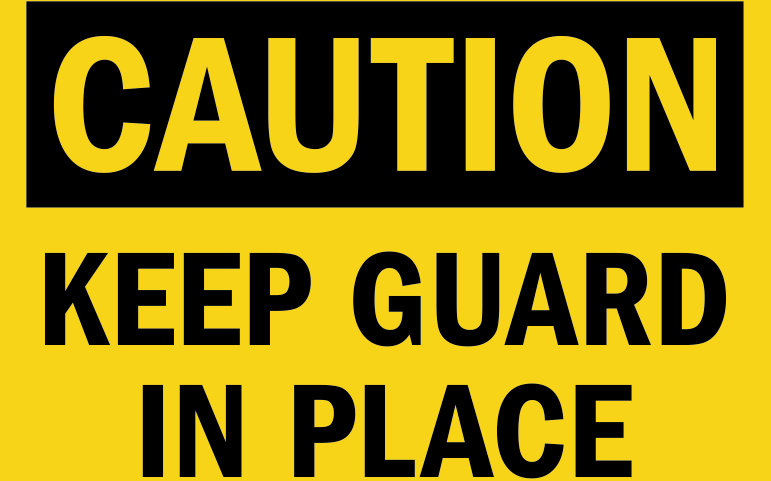 keep-guard-in-place