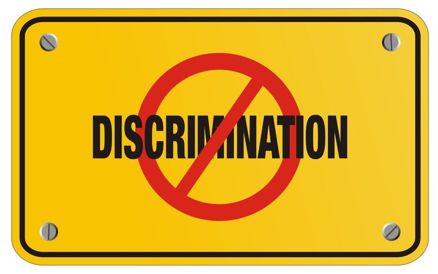 What are the different types of discrimination?