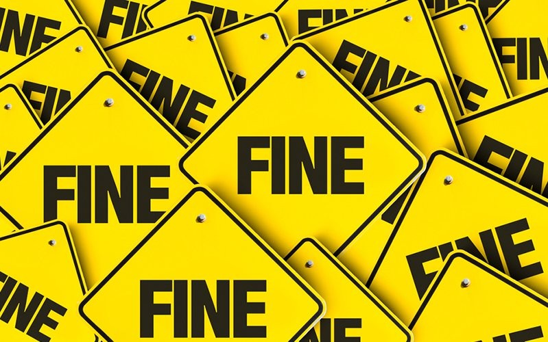 rise in health and safety fines