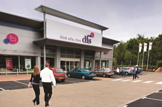 DFS fined £1m after worker is injured