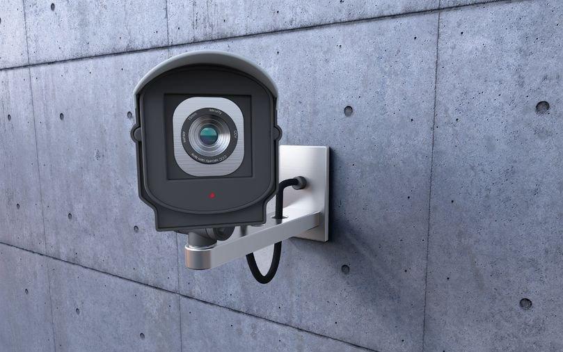CCTV monitoring at work