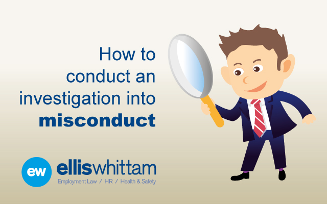 discipline investigation Many different problems can lead an employer to start an investigation, and not every investigation necessarily fits the popular profile of interrogations, witnesses under harsh lights, and long, drawn-out detective work.