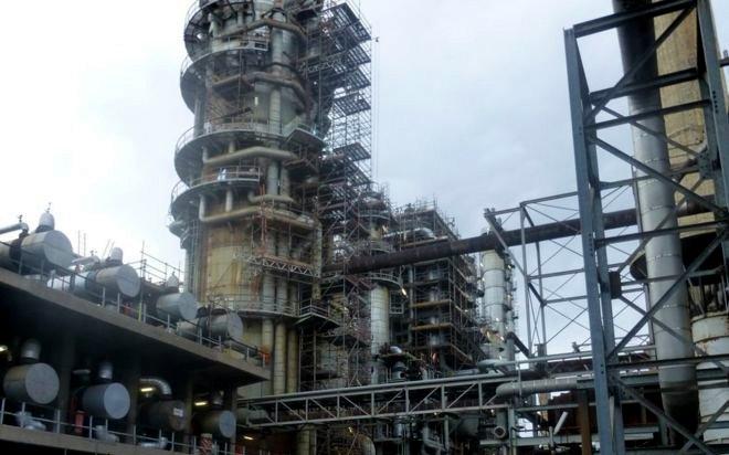 stanlow oil refinery