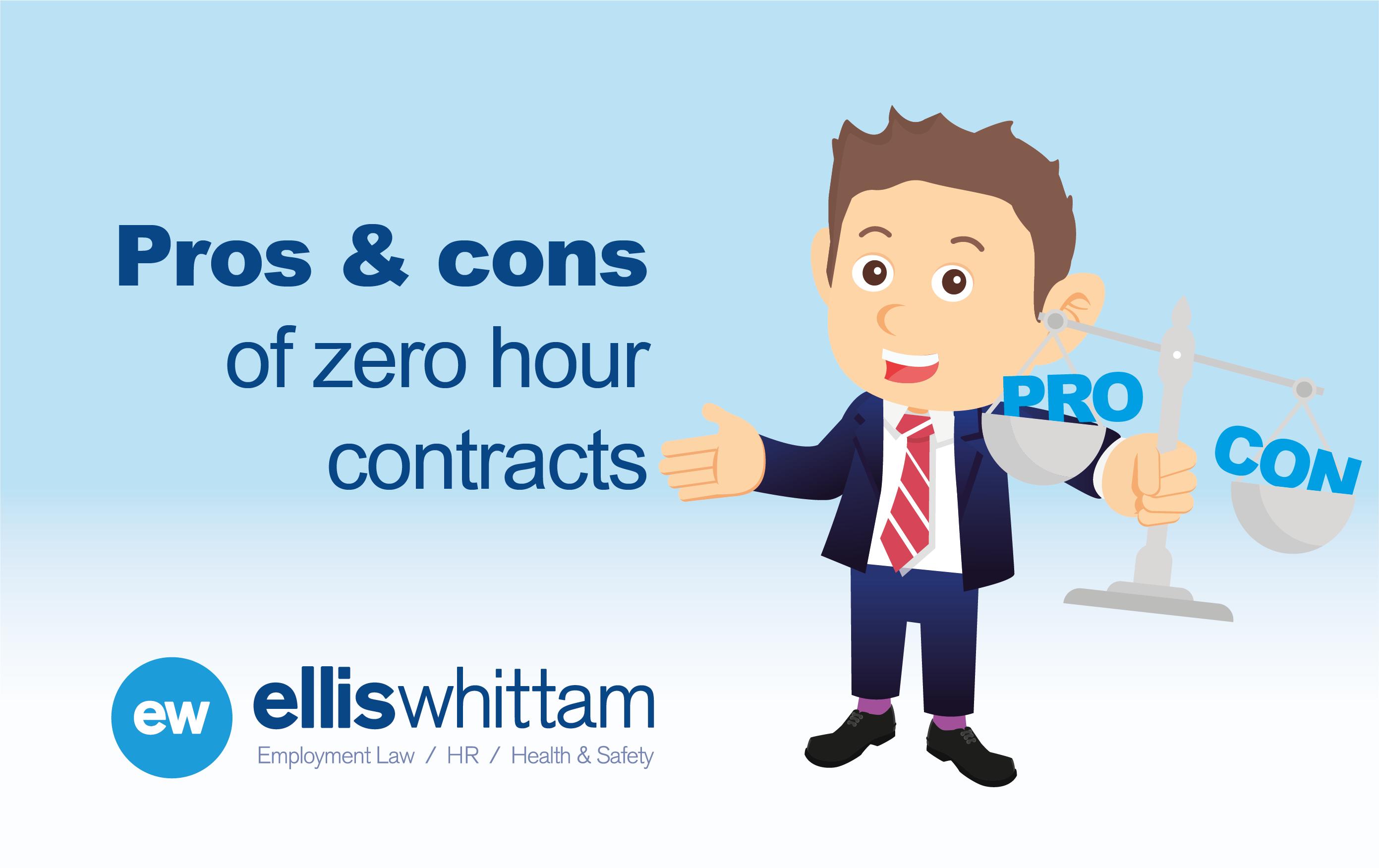 Pros cons zero hours contracts
