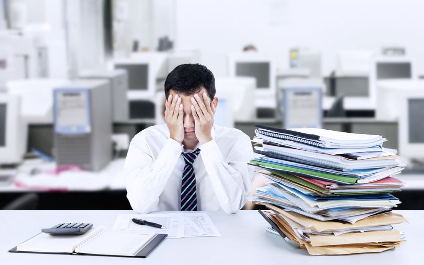 stress in accountancy firms