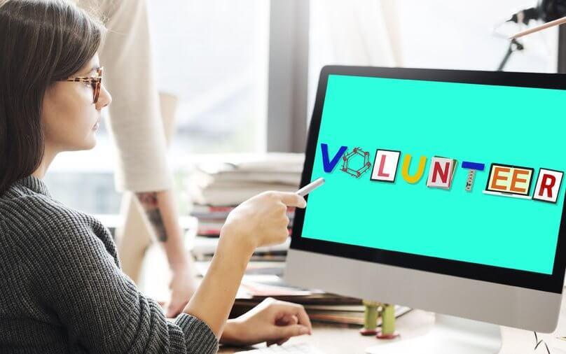 58316803 - volunteer voluntary support assist aid help concept